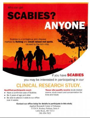 Treatment of Scabies