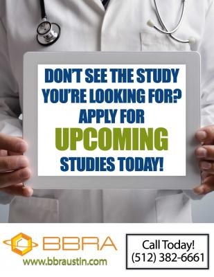 Upcoming Studies for Men & Women