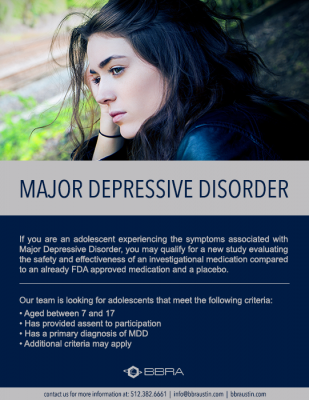 Major Depressive Disorder (7-17)