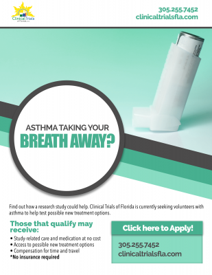 Asthma taking your breath away?
