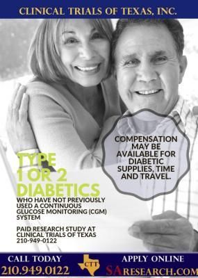 Diabetes Research Studies in San Antonio, TX | Clinical