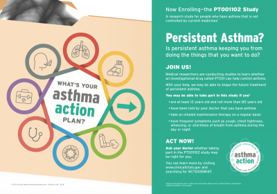 Asthma Research Study