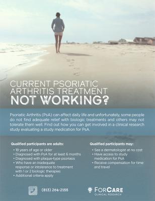 Studies - Enrolling Clinical Trials in Tampa, FL - ForCare Medical