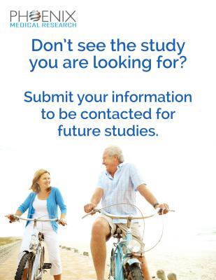 Upcoming Studies for Men & Women